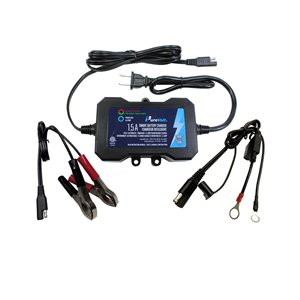 Purevolt 1.5-A 120-Volt Car Battery Charger