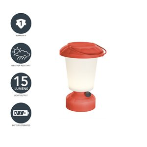Lanterne de camping DEL 110 lm de Sterno Home