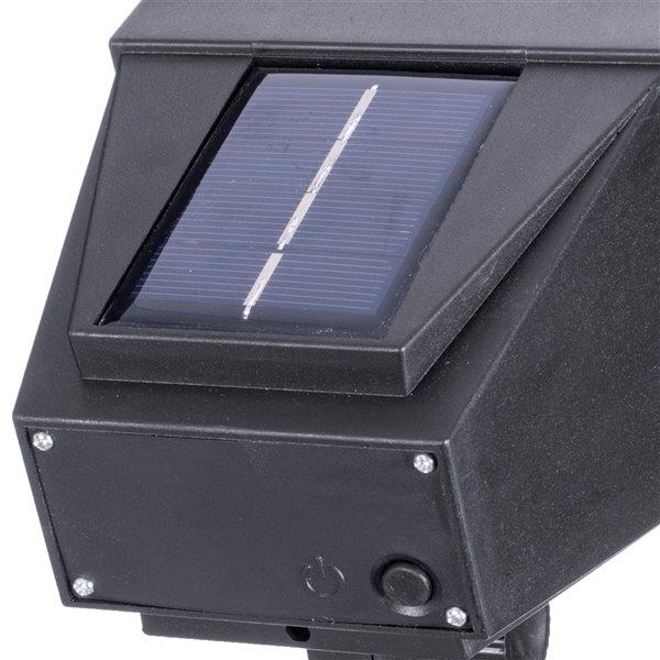 Projecteur solaire DEL noir 9-lm de Sterno Home