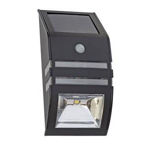 Luminaire pour marche solaire DEL noir 36x plus lumineux de Sterno Home