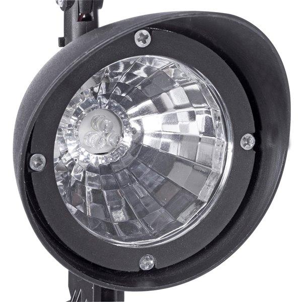 Projecteur solaire DEL noir 3-lm de Sterno Home