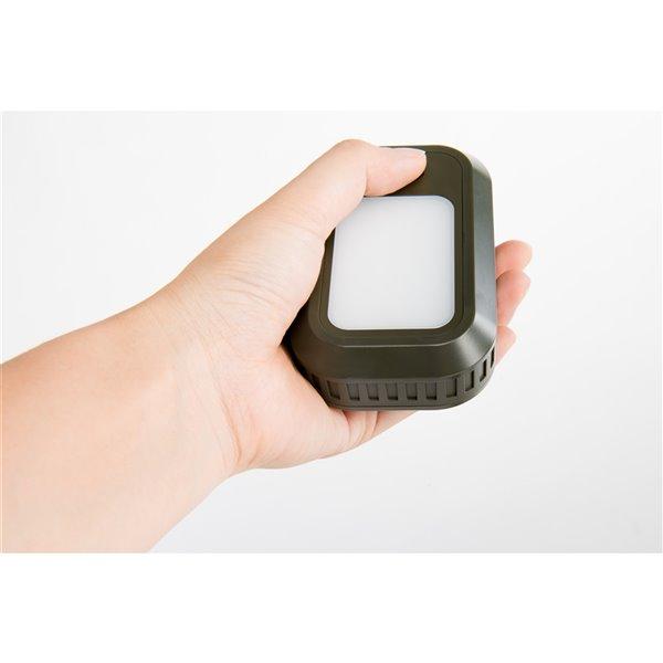 Lampe de poche miniature projecteur rechargeable DEL 100 lumens de Tru De-Light ( Batterie incluse )