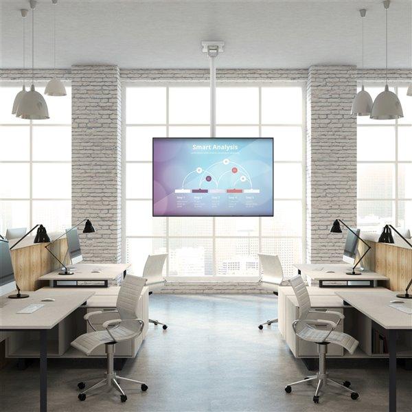 Support de plafond CM pour télévision de Kanto (matériel compris)