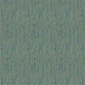 Tissu mural non tissé et non encollé Classic Madison de Be Shine, motif uni bleu gris, 100 pi²