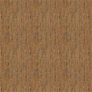 Tissu mural non tissé et non encollé Classic Madison de Be Shine, motif uni brun café, 100 pi²