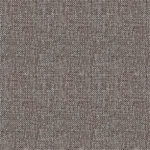 Tissu mural non tissé et non encollé Classic Iconic de Be Shine, motif uni lin gris, 100 pi²