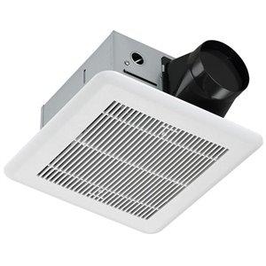 Ventilateur de salle de bain blanc 0,7 sone 80 pcm certifié Energy Star par Ancona