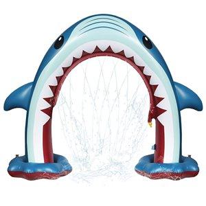 Arroseur gonflable géant en requin, 15pi², de Splash Buddies