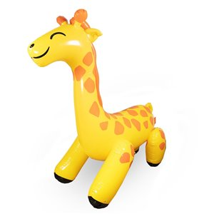 Arroseur gonflable géant girafe, 15pi², de Splash Buddies