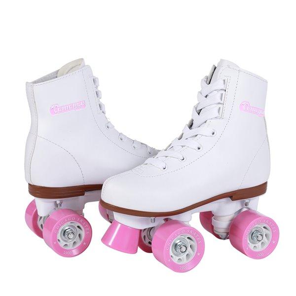 Chicago Skates – Patins de piste pour filles, taille 2