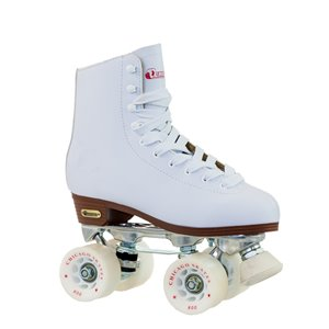 Chicago Skates – Patins Deluxe pour femmes, doublure en cuir, taille 8