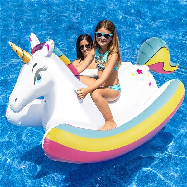 Licorne gonflable, 1 place, de Splash Buddies