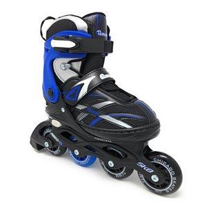 Chicago Skates - Patins à roulettes bleus ajustables MA7, taille J13-4