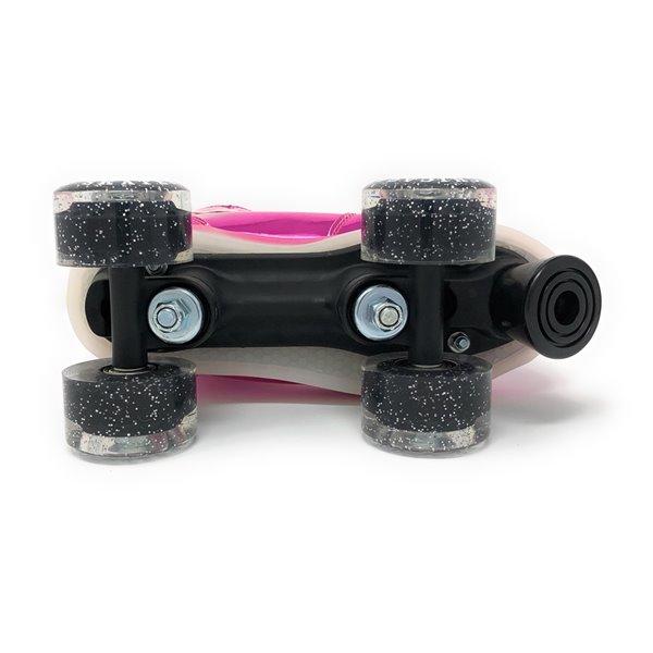 Chicago Skates - Patins à roulettes lumineux à DEL, Rose, taille 2