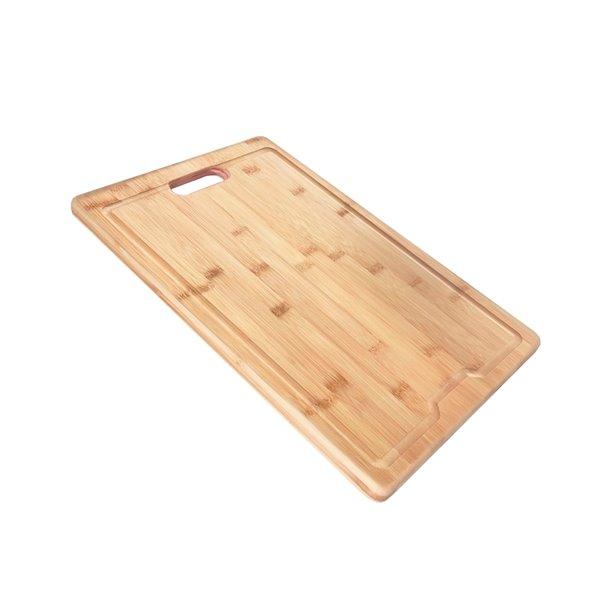 Planche à découper Azuni pour évier, en Bamboo, 16.75 po l. x 11 po L