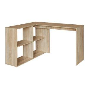 Bureau en forme de L moderne/contemporain Mccoy 47,24 po de FurnitureR
