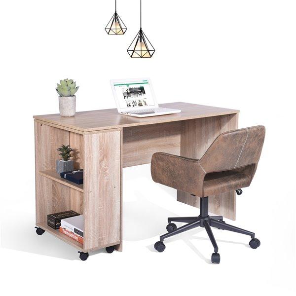 Bureau d'ordinateur moderne/contemporain Midtown 47,24 po de FurnitureR