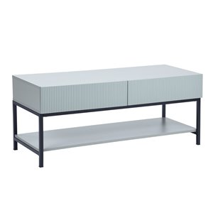 Table basse Barak grise en composite de FurnitureR