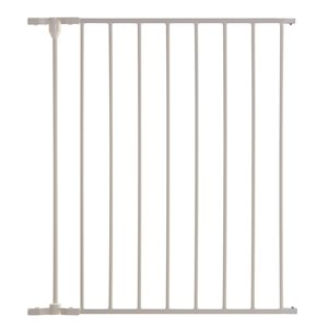 Rallonge de barrière de sécurité en métal Newport de Dreambaby, 24 po x 29 po, blanc