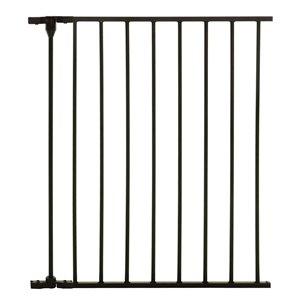 Rallonge de barrière de sécurité en métal Newport de Dreambaby, 24 po x 29 po, noir