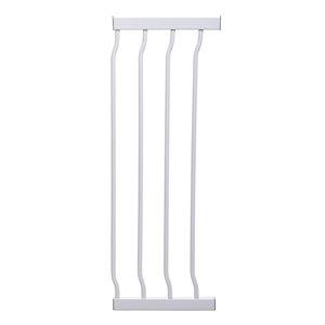 Rallonge de barrière de sécurité en métal Liberty de Dreambaby, 10,5 po x 30 po, blanc