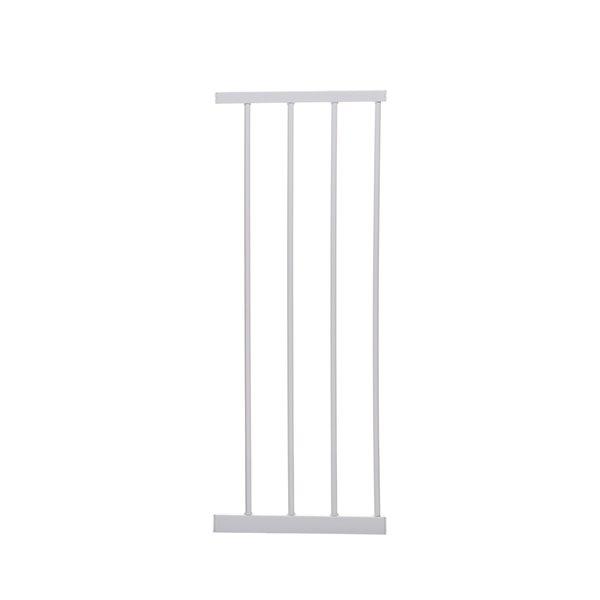 Rallonge de barrière de sécurité en métal Boston de Dreambaby, 11 po x 29 po, blanc