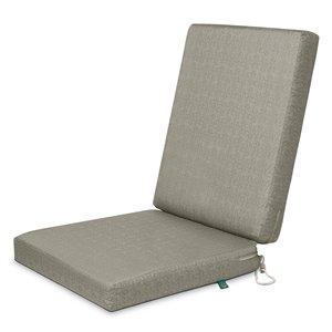 Coussin de chaise de patio carré Weekend pierre lunaire de Duck Covers