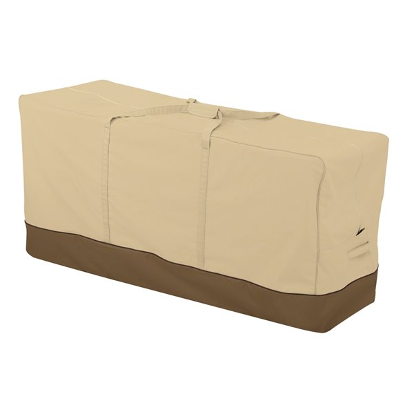 Housse de meuble de patio Veranda beige en polyester de Classic Accessories