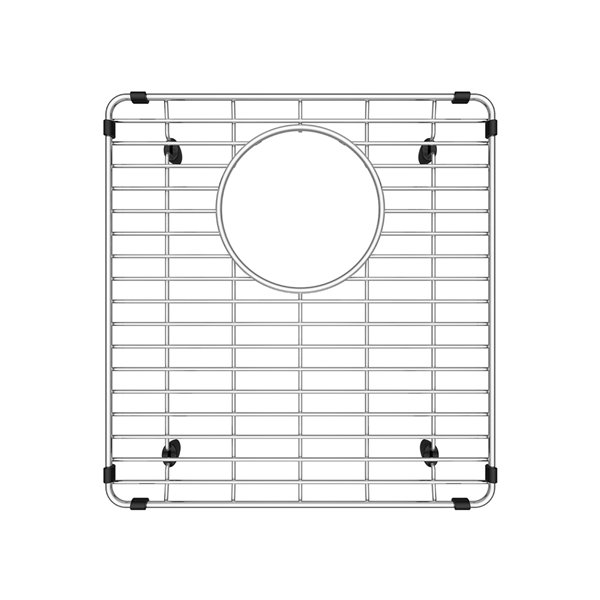 Grille Vintera en acier inoxydable de BLANCO 13,19 po x 12,38 po