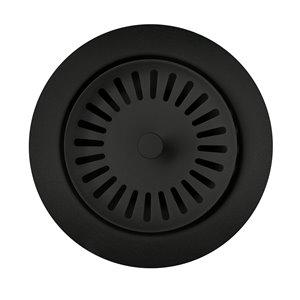 BLANCO 3.5-in Coal Black Stainless Steel Rust Resistant Strainer Basket - Basket Included