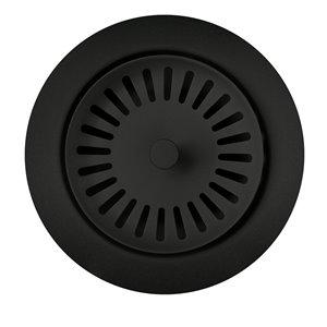 BLANCO 3.5-in Coal Black Stainless Steel Rust Resistant Strainer Basket (Basket Included)