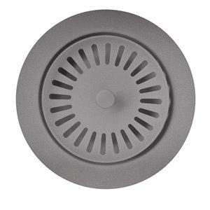 BLANCO 3.5-in Metallic Gray Stainless Steel Rust Resistant Strainer (Basket Included)