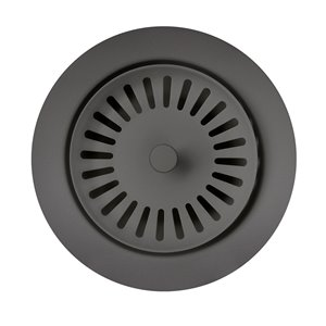 BLANCO 3.5-in Cinder Stainless Steel Rust Resistant Strainer Basket - Basket Included