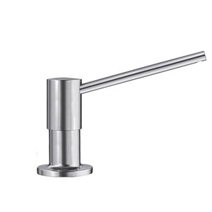 Blanco Torre Pvd Steel Soap And Lotion Dispenser