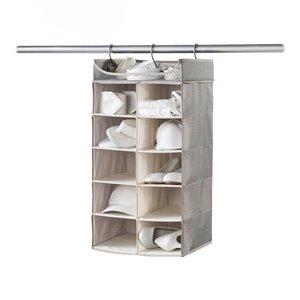 Organisateur horizontal à 10 compartiments de Neatfreak, polyester