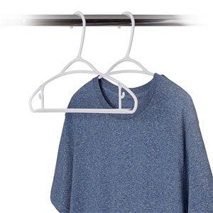 Ensemble decintres en plastique pour vêtement léger de Neatfreak, paquet de 140