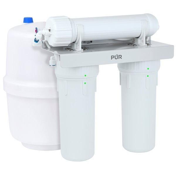 Système de filtration à osmose inverse à 3 étapes de PUR