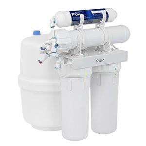 Système de filtration à osmose inverse à 4 étapes de PUR