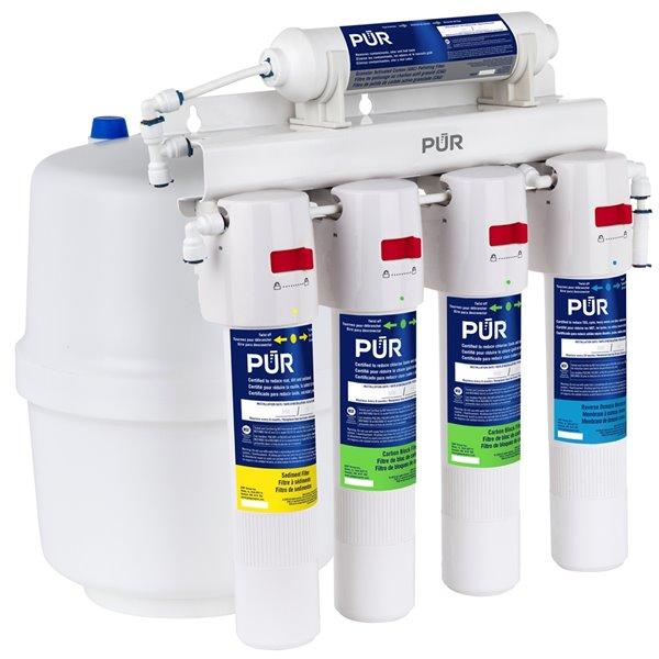 Système de filtration à osmose inverse à 5 étapes de PUR