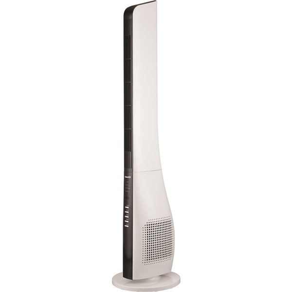 Forest Air 44-in 3-speed White Indoor Oscillation Tower Fan with remote