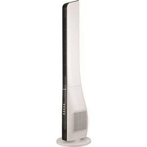 Ventilateur tour oscillant avec télécommande, blanc, 3 vitesses, 44 po, par Forest Air