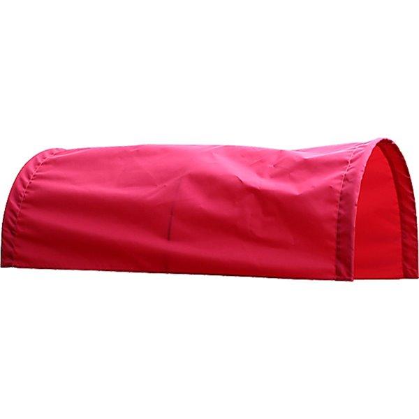 Auvent rouge pour chariot de 16 po x 34 po par Millside