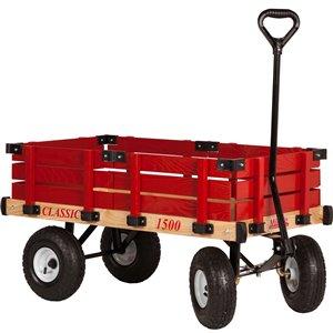 Chariot classique pour enfants 20 po x 38 po par Millside