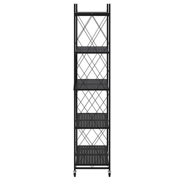Étagère utilitaire en métal à 5 niveaux 27.95-in p. x 13.39-in l. x 63.78-in h. par WHI