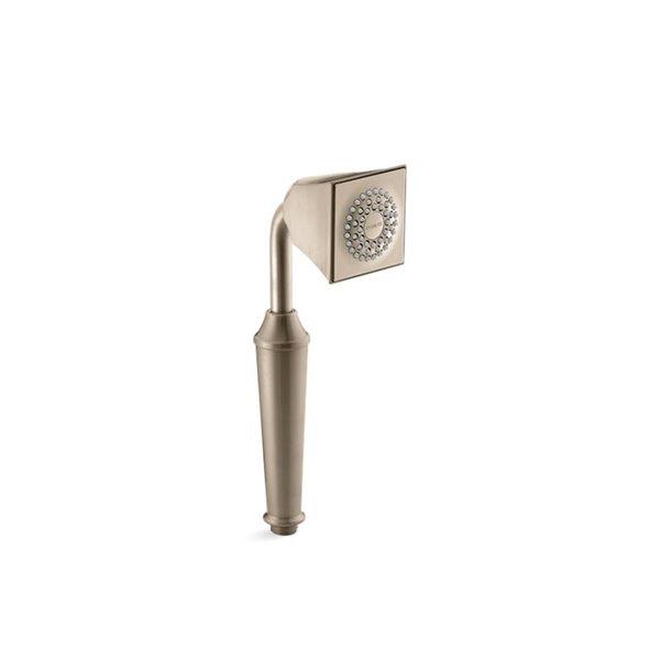 Pomme de douche à main en nickel brossé à 1 jet de 2.5 GPM (9.5 LPM) Memoirs de Kohler