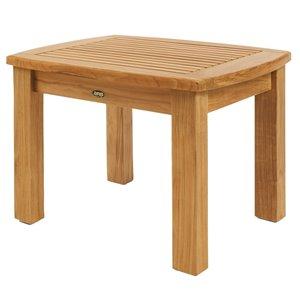 ARB Teak & Specialties Colorado Square Outdoor Coffee Table 39-in W x 39-in L