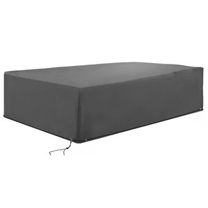 OutSunny Furniture Cover Grey Polyester Patio Furniture Cover