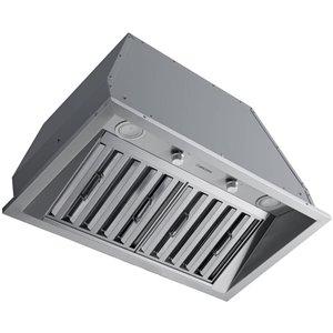 Hotte de cuisine encastrable avec mise à air libre 28 po en acier inoxydable de Ancona