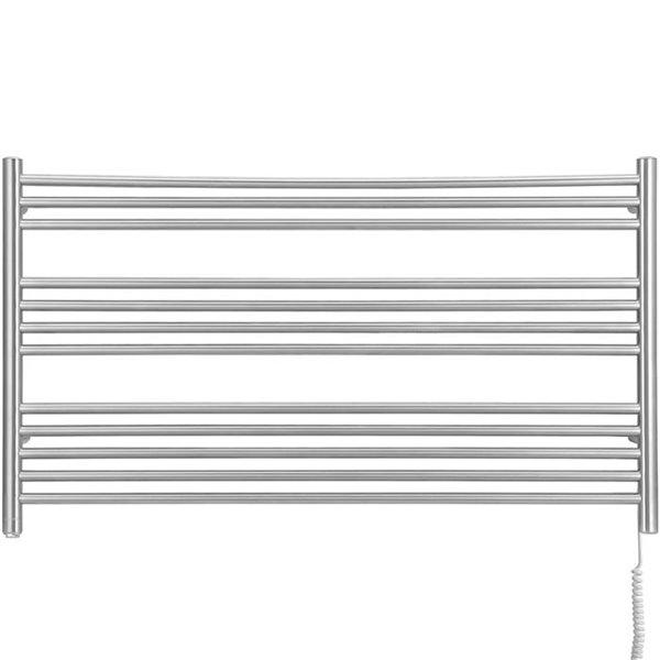 Chauffe-serviettes câblé en acier inoxydable brossé de Ancona