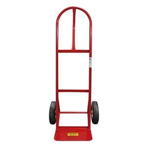 Diable en acier rouge à 2 roues 440 lb de Toolmaster